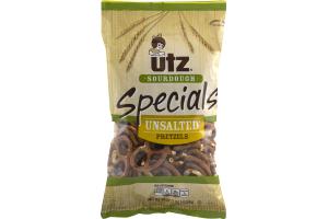 Utz Sourdough Specials Unsalted Pretzels
