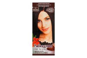 Маска тонирующая для волос №147 Шоколадно-коричневый Рябина Ton Acme Color 1шт