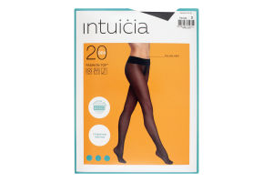 Колготки жіночі Intuicia Fashion Top 20den №2 чорний