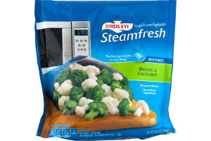 Bird's Eye Steamfresh Broccoli & Cauliflower