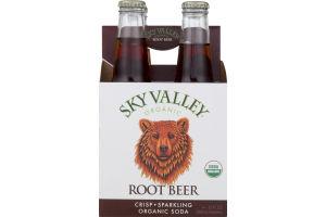 Sky Valley Organic Soda Root Beer - 4 CT