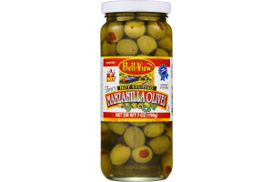 Bell-View Fancy Hot Stuffed Manzanilla Olives