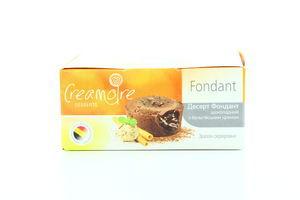 Десерт Creamore Фондант Шоколадний з бельгій кремом 85г х12