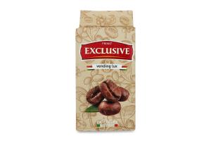 Кофе натуральный жареный молотый первого сорта Exclusive Vending Lux Primo м/у 250г