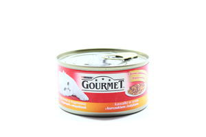 Консерва д/к.Gourmet Курка,Індич.195г