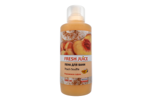 Піна д/ванн Peach souffle Fresh Juice 1л