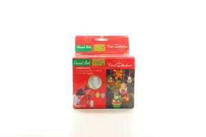 Набір для дитячої творчості Сніговик+3 краски+ коробка