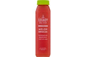 Legacy Juice Works Cold Pressed Juice Melon Breeze