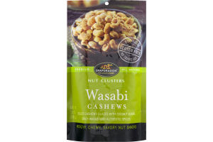 Snapdragon Nut Clusters Wasabi Cashews