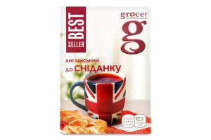 Чай черный листовой English Breakfast Bestseller Gr@ce к/у 100г
