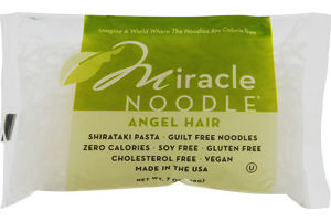 Miracle Noodle Pasta Angel Hair Miracle Noodle 853237003005