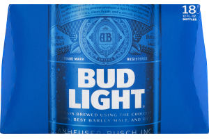 Bud Light Beer - 18 PK