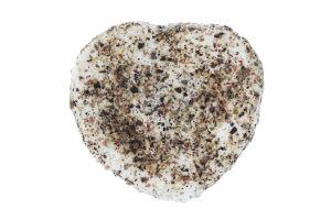 Сир 42.24% м'який з білою пліснявою Дзвінка із сіллю, часником та сумішшю перців Сироман кг
