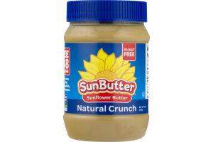 SunButter Sunflower Butter Natural Crunch