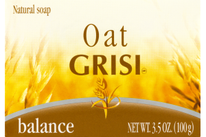 GRISI Oat Balance Natural Soap