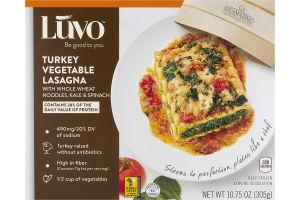 Luvo Lasagna Turkey Vegetable