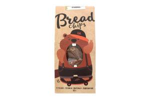 Сухарі грінки житньо-пшеничні Класичні Bread Chips м/у 80г