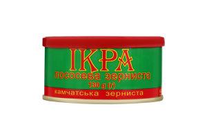 Икра лососевая зернистая Камчатская Рибкоппродукт ж/б 130г