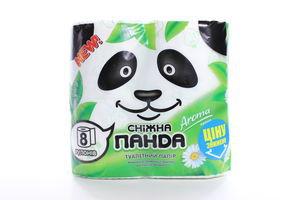 Бумага туалетная 2-х слойная Aroma Сніжна панда 8шт