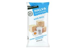 Халва Norsu подсолнечная молочная