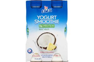 Lala Yogurt Smoothie Pina Colada - 4 CT