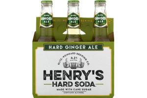 Henry's Hard Soda Hard Ginger Ale - 6 CT