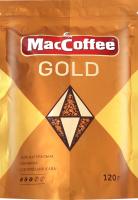 Кава натуральна розчинна сублімована Gold MacCoffee д/п 120г