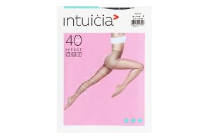 Колготки жіночі Intuicia Effect 40den 4 black