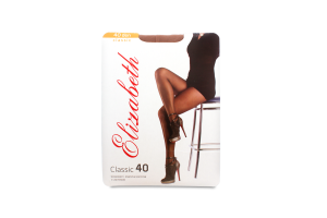 Колготки женские Elizabeth Classic 40den 4 visone