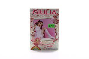 Гольфы детские Giulia Duffy №2 40den 18-20/20-22 bianco 2пары
