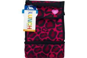 Arctic Zone Insulated Lunch Leopard Print