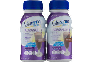 Glucerna Shake Advance Carbsteady Ultra Chocolate - 4 PK