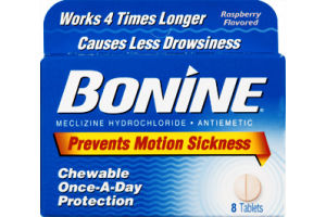 Bonine Motion Sickness Tablets - 8 CT