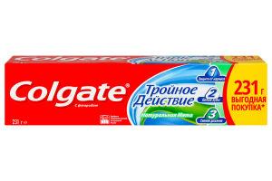 Паста зубная с фтором натуральная мята Тройное действие Colgate 150мл