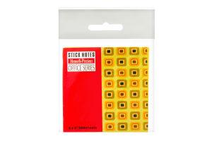 Блок бумаги MemorisPrecious100 клейк.полоса7,5*7,5