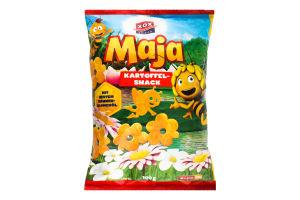 Снеки картопляні з морською сіллю Бджілка Майя ХОХ м/у 100г