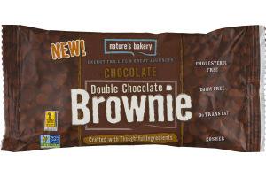 Nature's Bakery Double Chocolate Brownie Chocolate