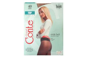 Колготи жіночі Conte Top 40den 4-L natural