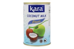 Молоко кокосове 17% Classic Kara з/б 400мл
