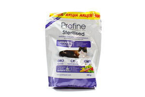 Корм Profine Cat Sterilised з нат.кур.мяса та рису 2*300г