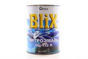 """ЕМАЛЬ НЦ-132П """"BLIX"""" ГОСТ СІРА 0,8КГ"""