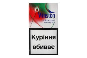 Сигареты с фильтром Winston XSpression Sparkling Mix 20шт