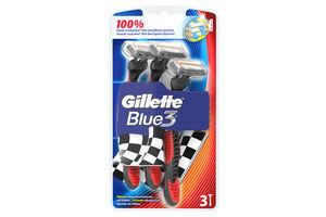Станок для бритья мужской одноразовый Blue 3 Gillette 3шт