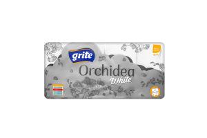 Папір туалетний Grite Orchidea White 8шт