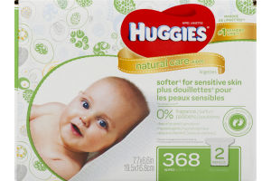 Huggies Wipes Natural Care - 368 CT