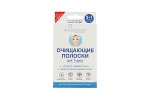 Полоски для носа очищающие Clean VIA Beauty 3шт