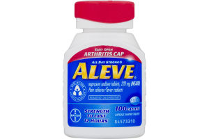 Aleve Pain Reliever/Fever Reducer Caplets - 100 CT