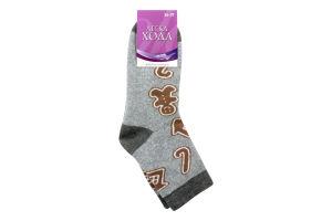 Шкарпетки жіночі Легка хода №5387 23 срібло меланж