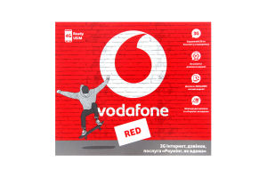 Пакет стартовый Vodafone S