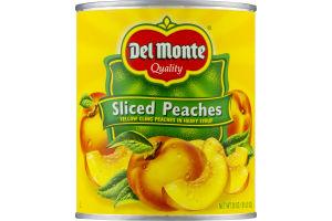 Del Monte Sliced Peaches